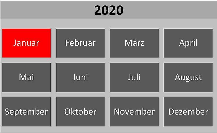Historische Ereignisse im Januar 2020