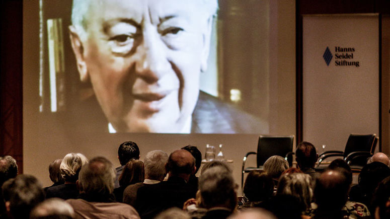 Vorführung in der Hanns Seidel Stiftung