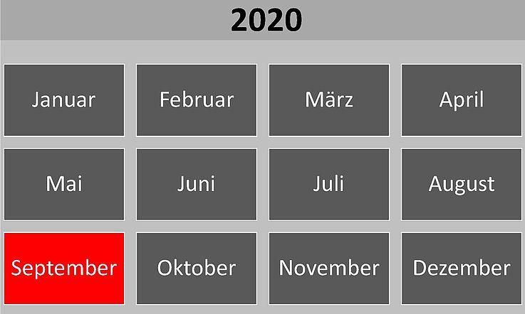 Historische Ereignisse im September 2020