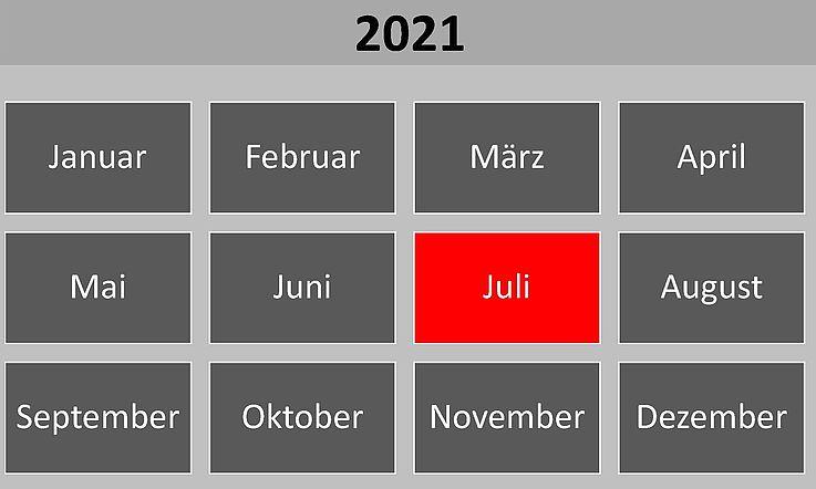 Historische Ereignisse im Juli 2021