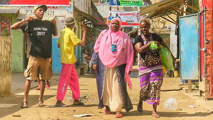 Die kleine, muslimisch geprägte Insel Lamu vor den Wahlen in Kenia