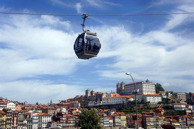 Seilbahnen in der Stadt gehören in Ankara schon zum Alltag.
