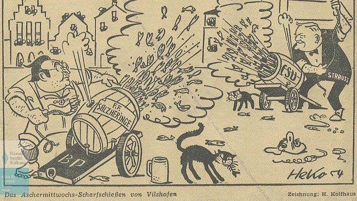 100 Jahre Politischer Aschermittwoch