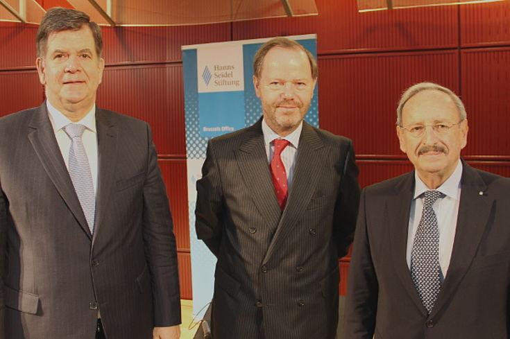 Jan van Laarhoven, Pieter De Gooijer und Reinhold Bocklet