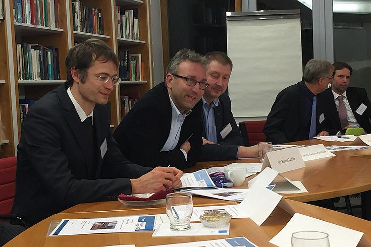 Moderator Roland Löffler, Herbert Quandt-Stiftung