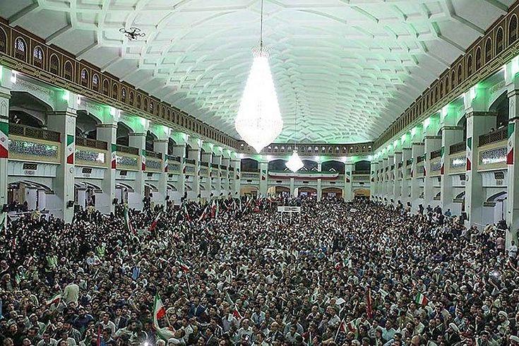 Obwohl der Iran für Rohanis Reformkurs stimmte, bleibt das Land fest in der Hand der Revolutionsgarden.