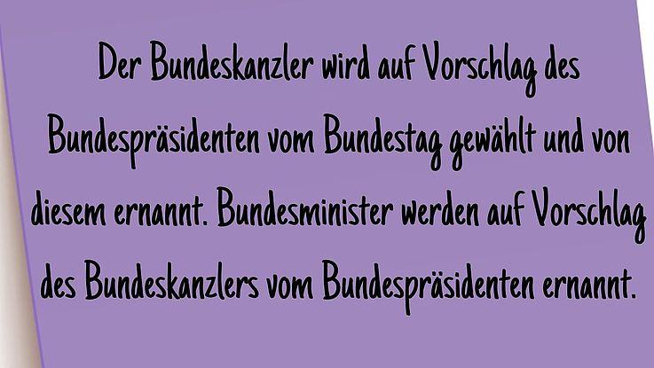Definition Bundesregierung