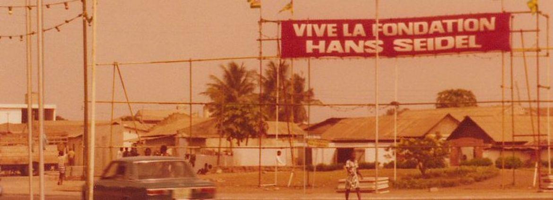 Herzlicher Empfang der Hanns-Seidel-Stiftung in Togo 1977
