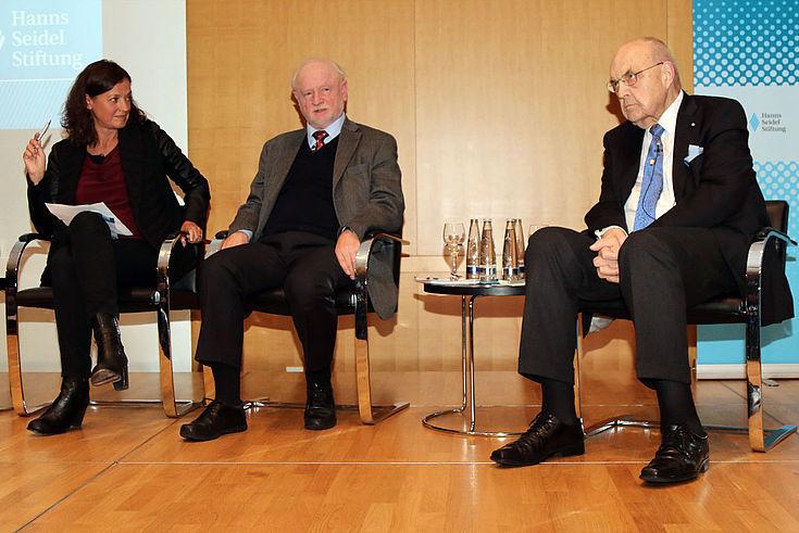 Antje Pieper, Hannes Adomeit, Wilfried Scharnagl
