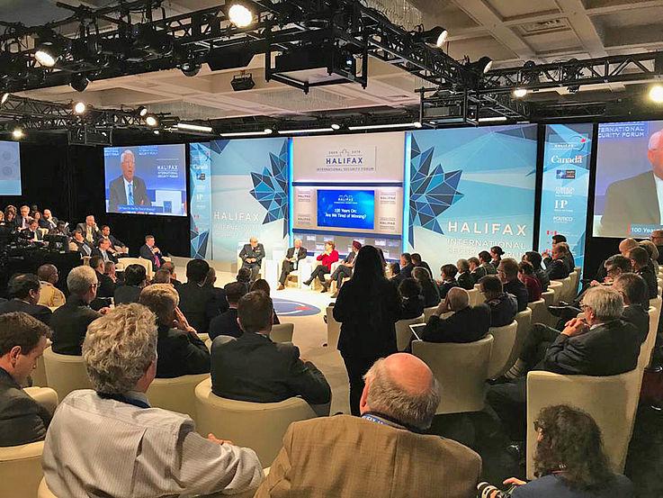 Kleiner Kreis, große Wirkung: in Halifax treffen sich ausgewählte Strategen der transatlantischen Beziehungen.