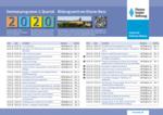Seminare Kloster Banz Q1 2020