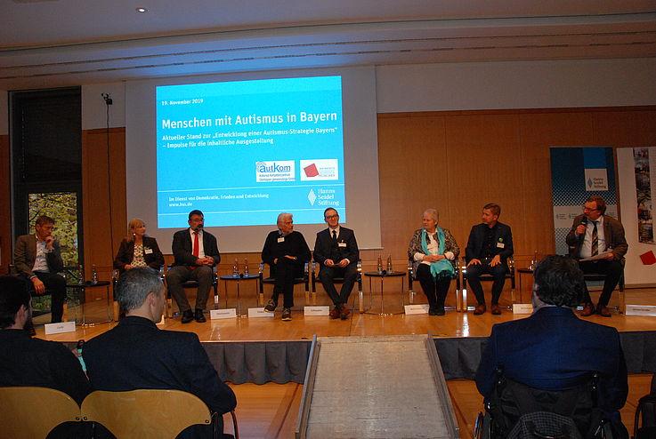 Podiumsgespräch zur Autismus-Strategie Bayern