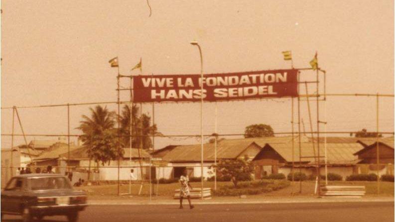 Beginn der Auslandsarbeit der HSS 1977 in Togo
