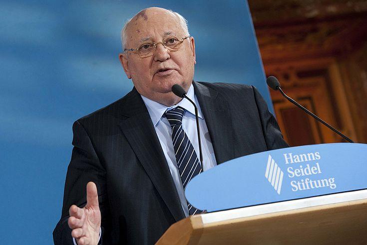 Verleihung des Franz Josef Strauß-Preises an Michail Gorbatschow 2011