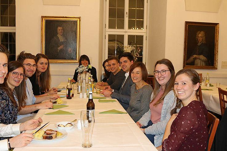 Die Jugendleiter vom Ferienprogramm der HSS am ersten Abend