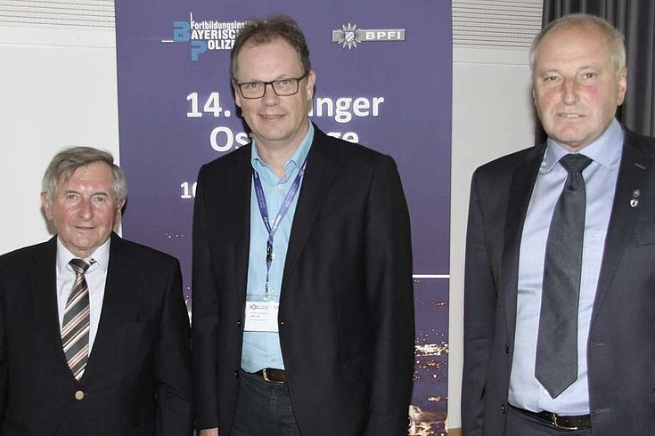 Landtagspräsident a. D. Alois Glück, Detlev Tolle und Johann P. Holzner