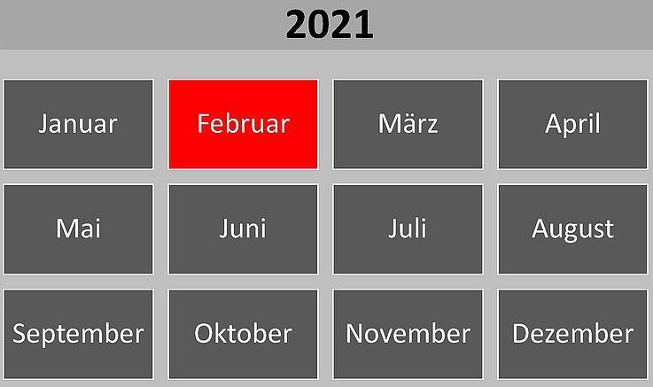 Historische Ereignisse im Februar 2021