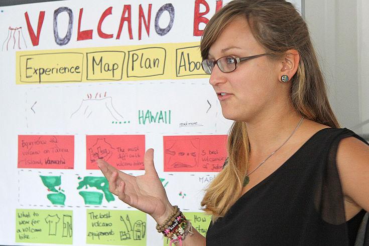 Ein Blog für vulkaninteressierte Urlauber - Präsentation der Content-Strategie