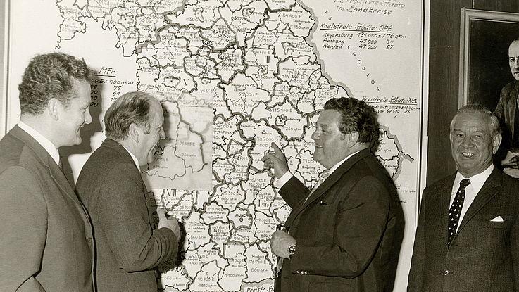Landkreisreform in Bayern