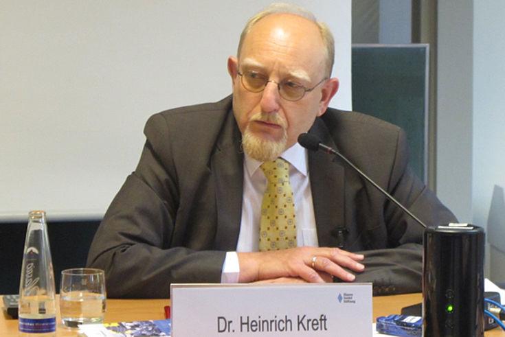 Botschafter Heinrich Kreft