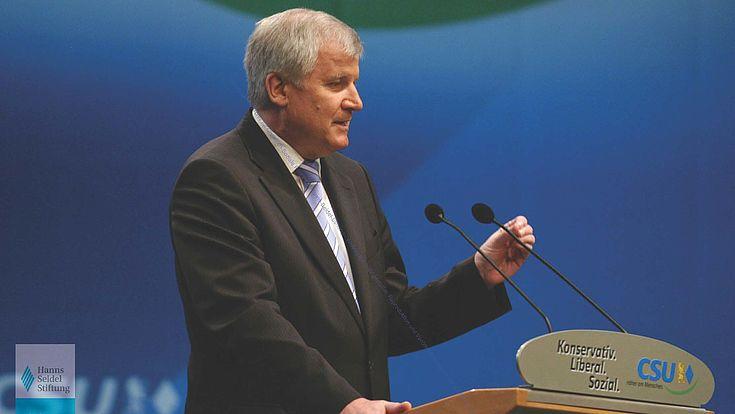 Horst Seehofer CSU-Parteitag 2007