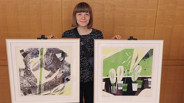 """""""Schönheit ist überall. Man muss nur genau hinsehen."""" - Die postmodernen Landschaften und Portraits von Yehorova Kateryna aus Odessa kombinieren grafische Drucktechniken."""