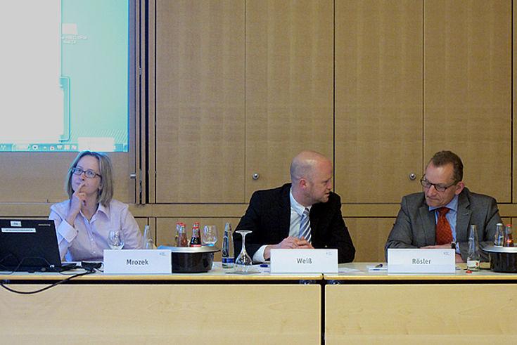 Anna Mrozek, Moritz Weiß, Klaus Rösler