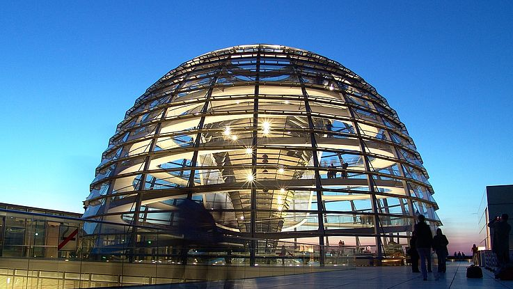 18. September 1997 - Richtfest am umgebauten Reichstag