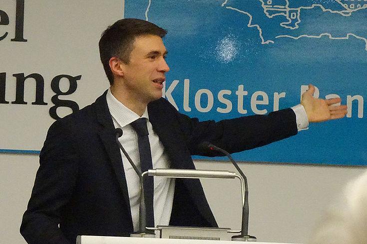 """""""Die Europäische Idee wieder näher zu den Bürgern bringen"""" (Stafan Müller, MdB)"""