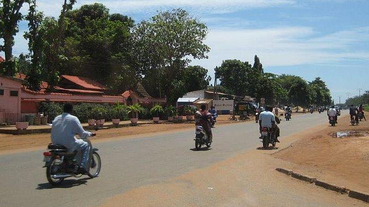 Viele Angreifer kommen mit Motorrädern