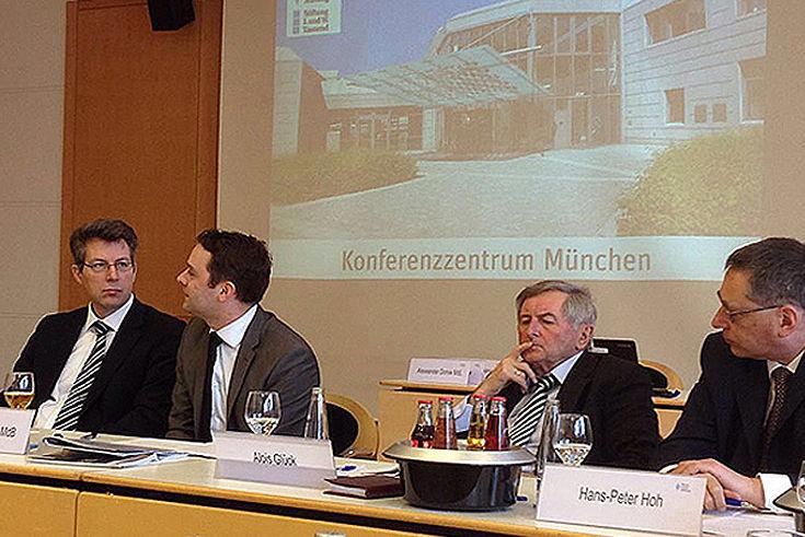Moderator Markus Blume und Ideengeber Andreas Lenz