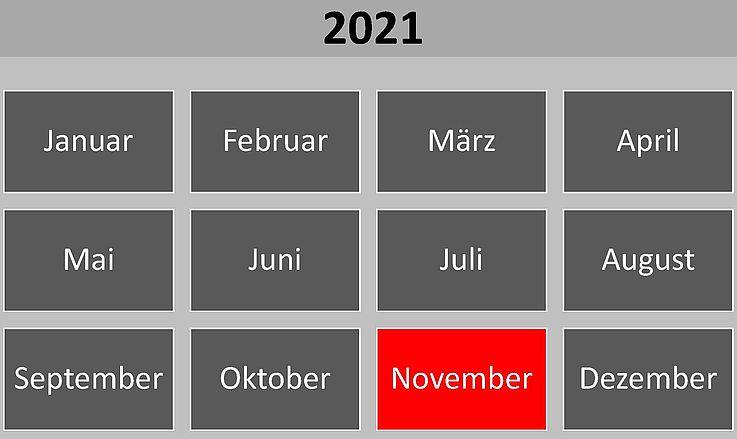 Historische Ereignisse im November 2021