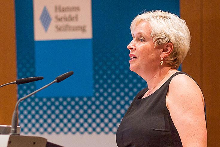 Susanne Luther, Leiterin des Instituts für Internationale Zusammenarbeit der Hanns-Seidel-Stiftung