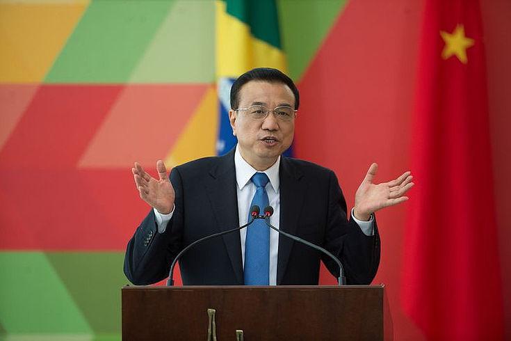 Chinas Premier Li Keqiang: Mehr grün als rot.