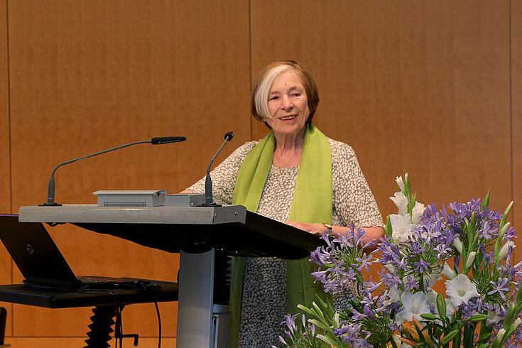 Prof. Ursula Männle, Vorsitzende der Hanns-Seidel-Stiftung, lobte den Berliner Kompromiss als Stärkung des Föderalismus in Deutschland.