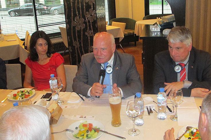 Peter Winter (MdL) betonte die großen historischen Gemeinsamkeiten zwischen Russland und Deutschland.