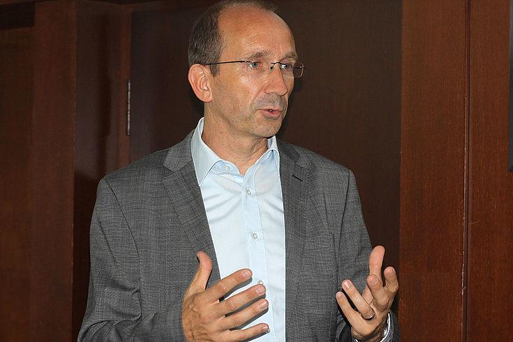 Winfried Wenzel, Pressesprecher der Polizei Berlin