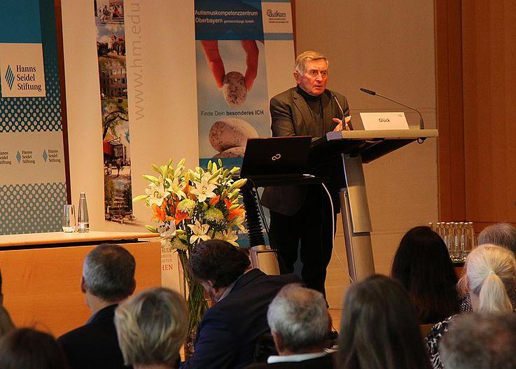 Alois Glück, Schirmherr des Autismuskompetenzzentrums Oberbayern