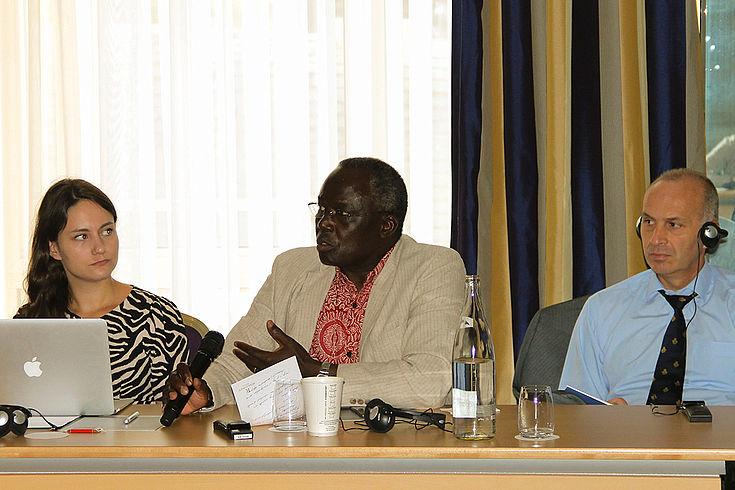 Im Gespräch mit den Experten aus dem Sahel wurde deutlich, wie wichtig Perspektiven für die afrikanische Jugend sind
