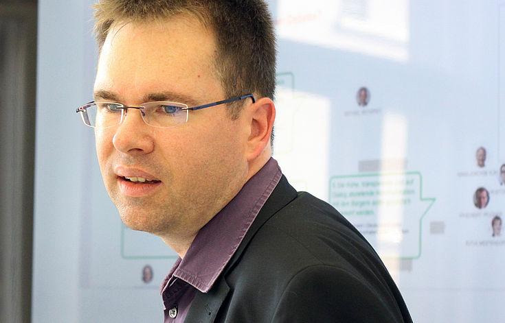 Sascha Klettke, Chef vom Dienst beim Tagesspiegel