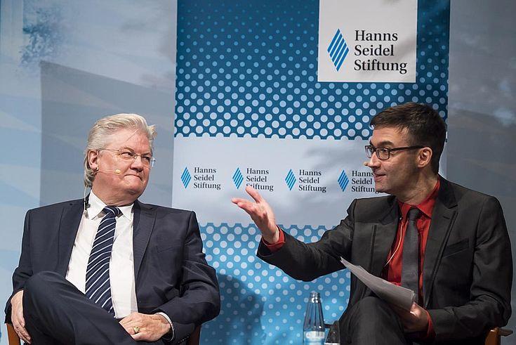 Prof. Sigmund Gottlieb und Dr. Alexander Kissler