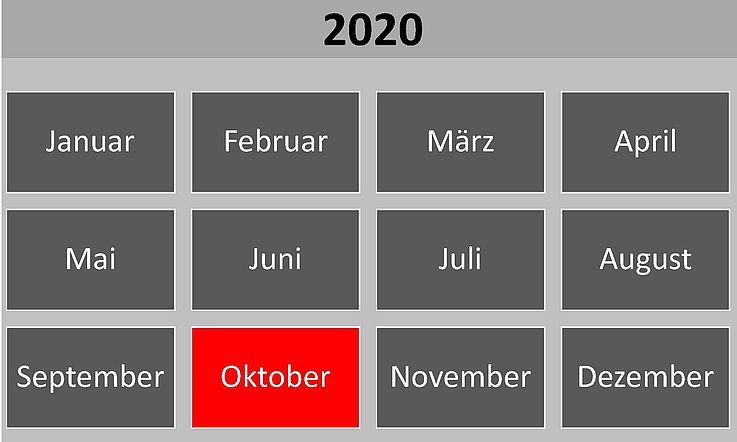 Historische Ereignisse im Oktober 2020
