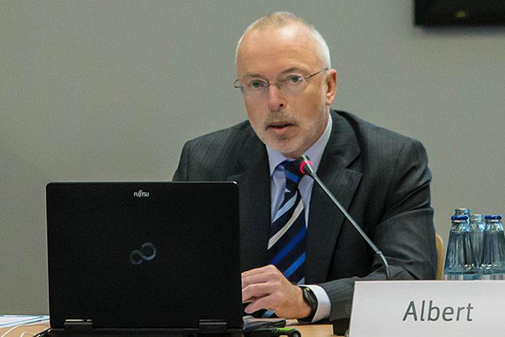 Helmut Albert, Direktor des Landesamts für Verfassungsschutz Saarland