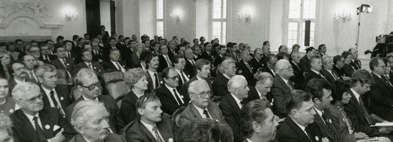 Feierliche Eröffnung des Bildungszentrums Kloster Banz 1983