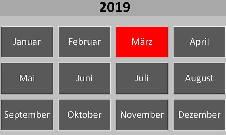 Historische Ereignisse im März 2019