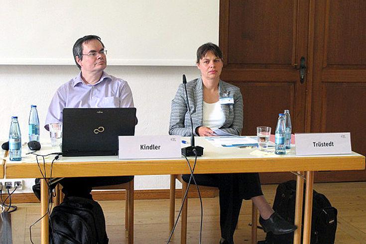 Heinz Kindler, Leslie Trüstedt