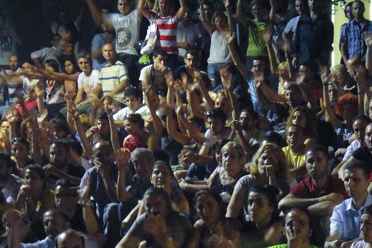 """Nein-Lager"" des Referendums trifft sich am Abend in Istanbul"