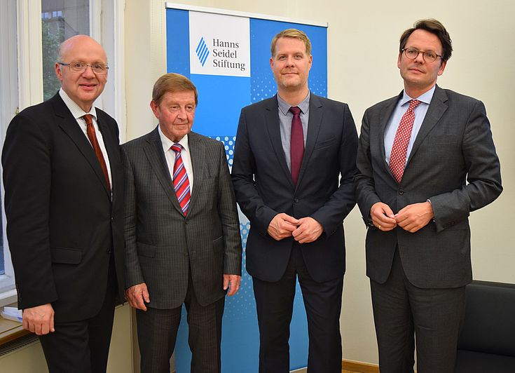 Alexander Radwan, Otto Wiesheu, Alexander Wolf, Knut Bergmann
