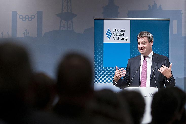 Keynote des Staatsministers Söder