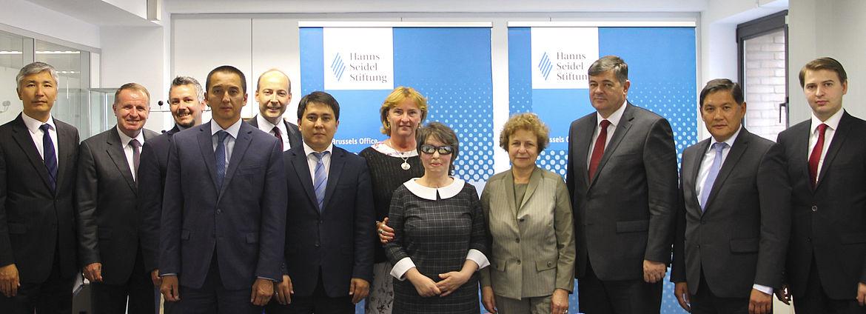 Teilnehmer der Delegation